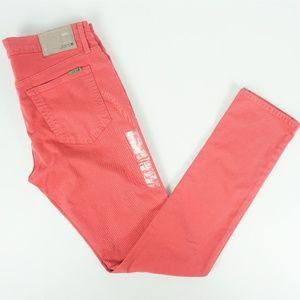 Joe's Mens Jeans Slim Fit Coral Cotton Stretch